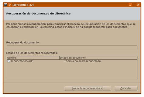 UsuarioDebian: Recuperación de documentos de LibreOffice