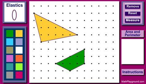 Værktøj – mathplayground.com – Interaktivt sømbræt ...