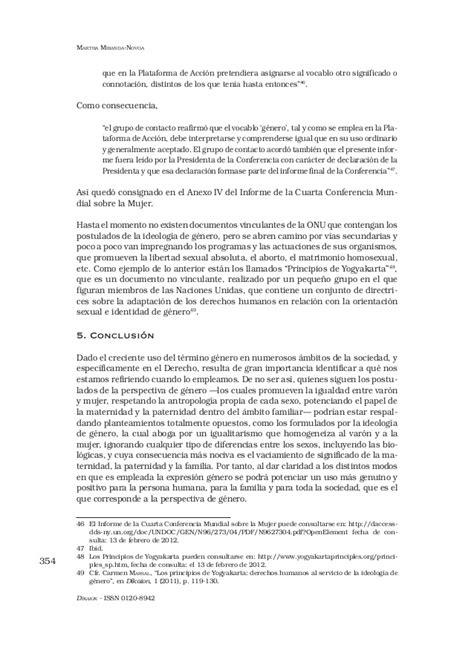 V21n2a02 DIFERENCIA ENTRE LA PERSPECTIVA DE GENERO Y ...