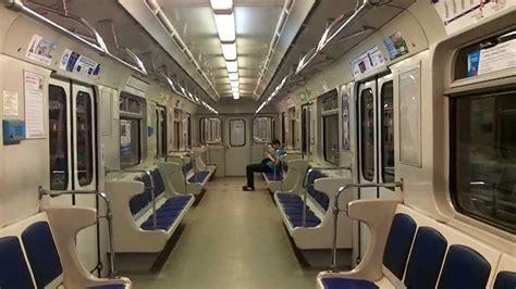 Vagon de metro en San Petersburgo   YouTube