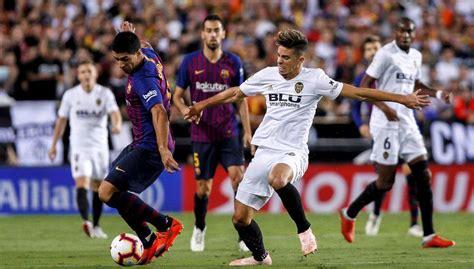 Valencia   Barcelona: LaLiga Santander de fútbol, en ...