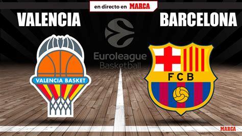 Valencia Basket   Barcelona: resultado y resumen ...