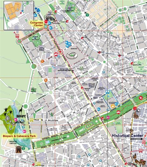 Valencia Bioparc Map