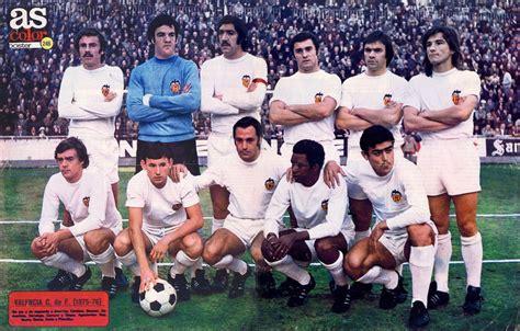 Valencia CF 1975 76  con imágenes  | Equipo de fútbol ...