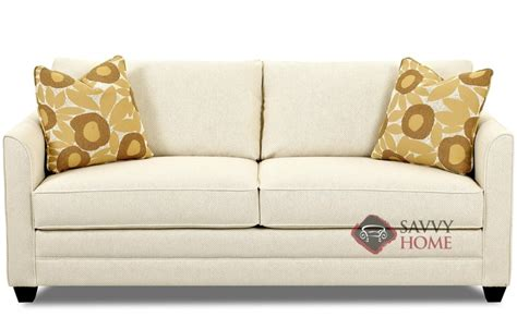 Valencia Fabric Sleeper Sofas Queen by Savvy is Fully ...