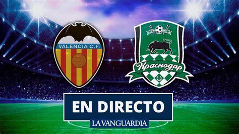 Valencia   Krasnodar: Goles y resultado del partido de fútbol