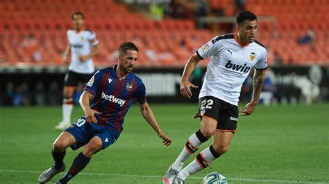 Valencia   Levante: Goles, resultado y resumen del partido ...
