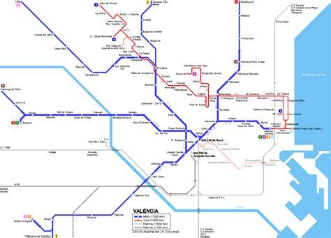 Valencia metro tram map   Valencia, Map, Map screenshot