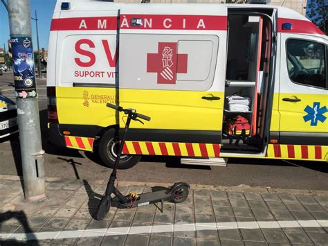 Valencia registra un accidente con patinete al día durante ...