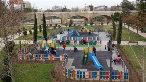 València ultima el inicio de obras de dos nuevos parques y ...