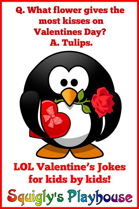Valentine s Day Jokes for Kids at Squigly s Playhouse