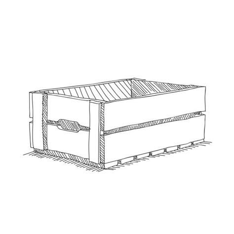 Valla de madera. Dibujo vectorial — Archivo Imágenes ...