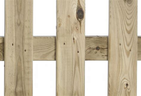 Valla de madera Hurricane 80 cm Ref. 14658462   Leroy Merlin