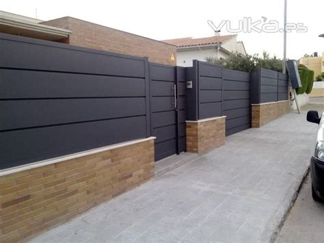 valla metalica jardin   Buscar con Google | Bardas de ...
