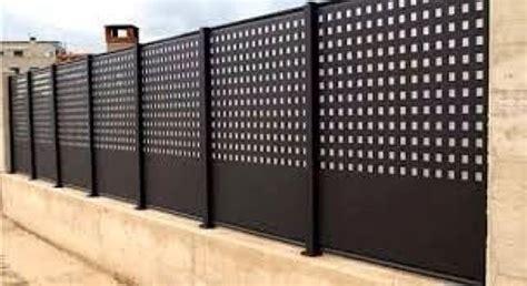 valla metalica jardin   Buscar con Google | vallas ...
