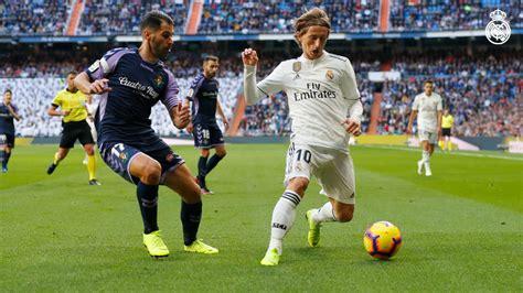 Valladolid vs Real Madrid: En vivo | La Liga de España ...