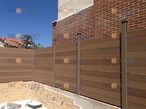 vallas de madera sintética para cerramientos, cercados ...