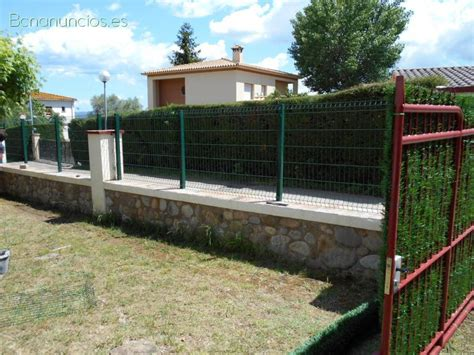 Vallas metalicas mallas postes puerta málaga   Posot Class