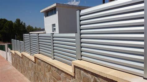 Vallas y celosías   Frampe Cerramientos de aluminio, PVC ...