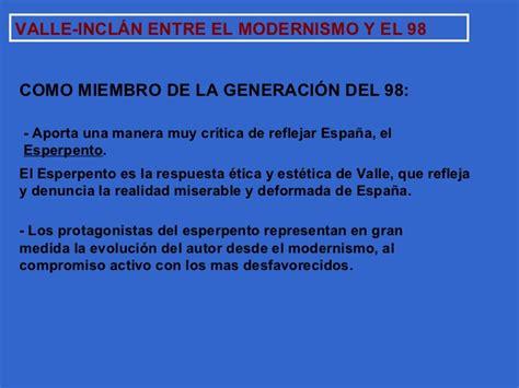 VALLE INCLÁN EN EL CONTEXTO LITERARIO ENTRE EL FIN DE ...