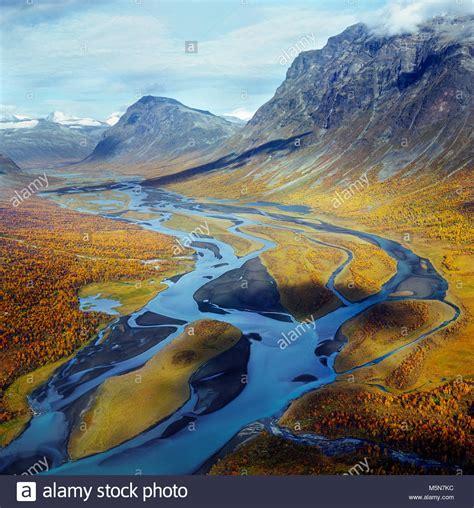 Valle Rapadalen denominado Sarek en Parque Nacional ...