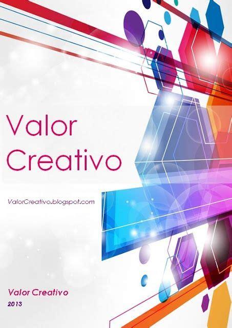 Valor Creativo: Portadas Word | Portadas word, Portadas de ...
