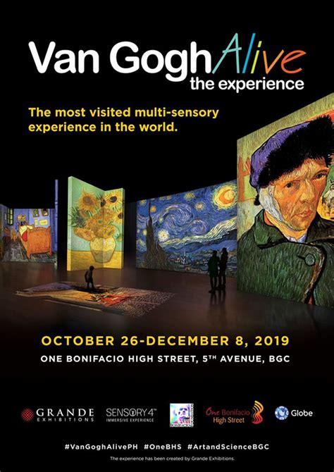 Van Gogh Alive Comes to Bonifacio High Street in October