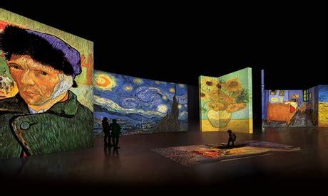 Van Gogh Alive Exhibition at Dubai Design District ...