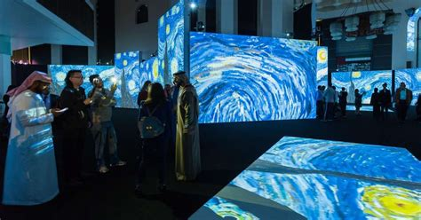 Van Gogh Alive exhibition questions where the border lies ...