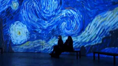 Van Gogh Alive Exhibition   YouTube