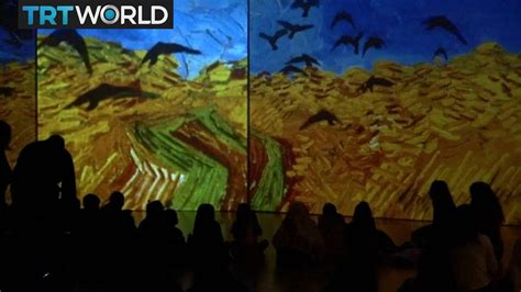 Van Gogh Alive  in Athens | Exhibitions | Showcase   YouTube
