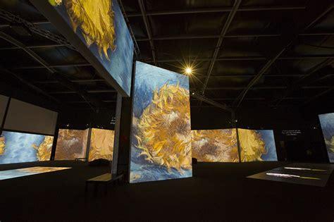 Van Gogh Alive SENSORY4 traveling exhibition on Behance
