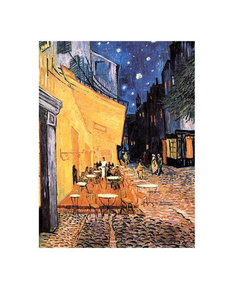 Van Gogh La Terraza del cafe de Paris   Cuadro ...