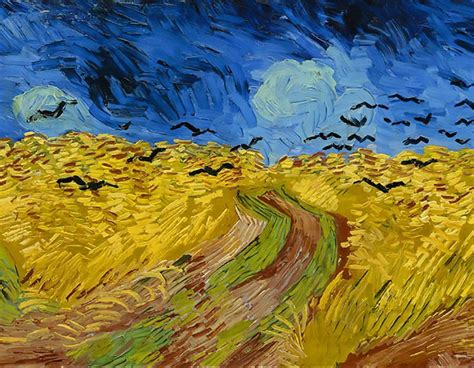 Van Gogh: Qual destas duas obras foi a última a ser ...