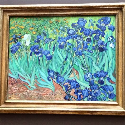 Van Gogh s Irises painting. 10th most expensive painting ...
