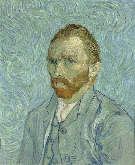 Van Gogh self portrait  1889    Wikipedia