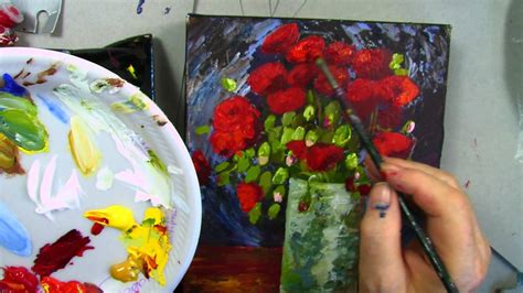 Van Gogh  Vase with Red Poppies  part 2   YouTube