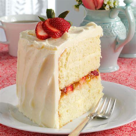 Vanilla Bean Cake with White Chocolate Ganache Recipe ...