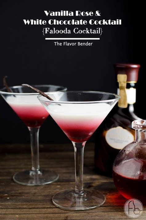 Vanilla Rose and White Chocolate Cocktail {Falooda ...