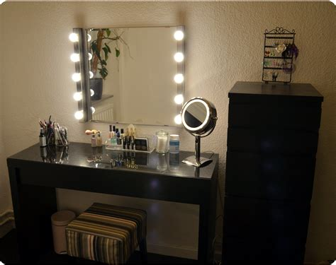 Vanity Mirror With Lights Bedroom Sets Black Vanities ...