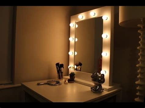 Vanity Mirror with Lights Ikea   YouTube