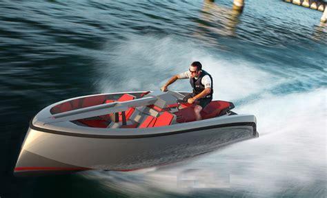 Vanqraft 16: Una moto de agua en forma de barco   A motor ...