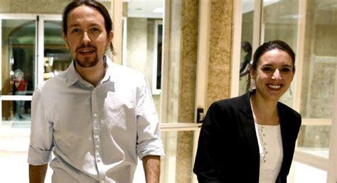 ¡Vaya dos caraduras! Pablo Iglesias e Irene Montero se ...