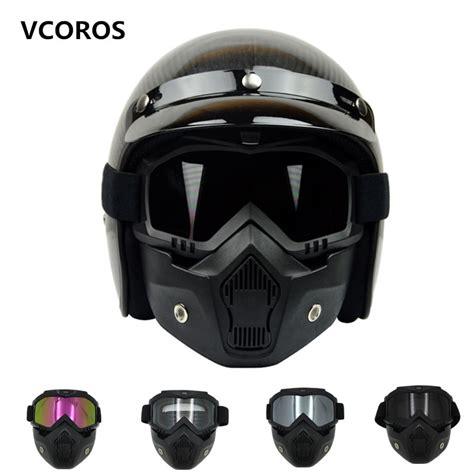 VCOROS Monster mask vintage motorcycle helmet mask ...