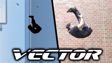 Vector ALL TRICKS In Real Life  Parkour game, bonus    YouTube