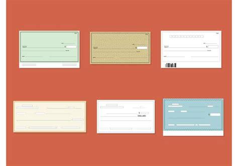 Vector de cheques en blanco   Descargar Vectores Gratis ...
