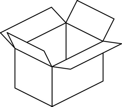 Vector de la imagen del arte de dibujos animados caja ...