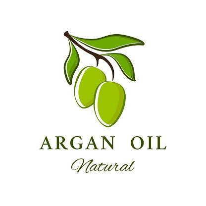 Vector Emblem Argan Oil Logotype Beauty And Cosmetics Oils ...