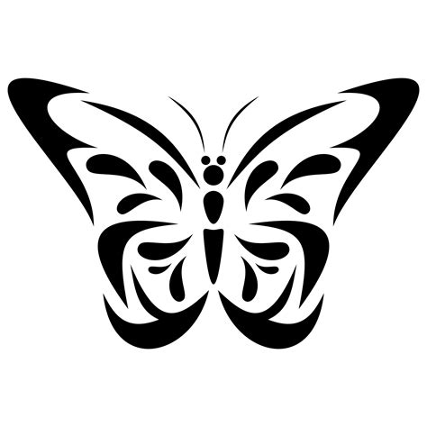 Vector for free use: Butterfly vector