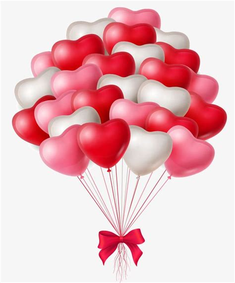 Vector Hand Painted Heart Balloon, Vector, Hand Painted ...